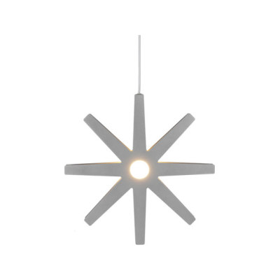 Fling 50 pendant medium silver by Bsweden