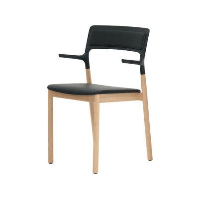 Florinda Soft with armrests by De Padova