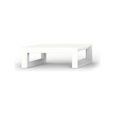 Frame Bar Table - 80 x 120 x 35 cm White