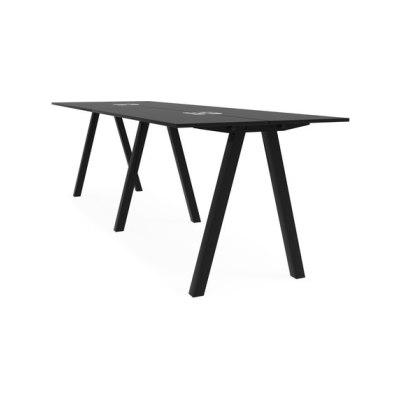 Frankie bench desk high A-leg 110cm by Martela Oyj