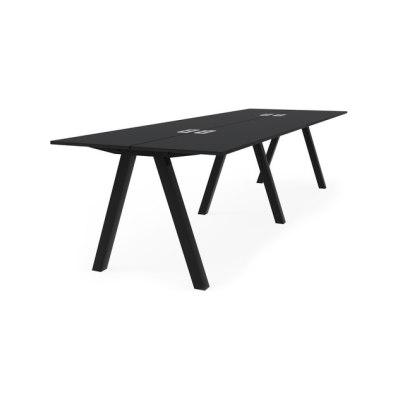 Frankie bench desk high A-leg 90cm by Martela Oyj