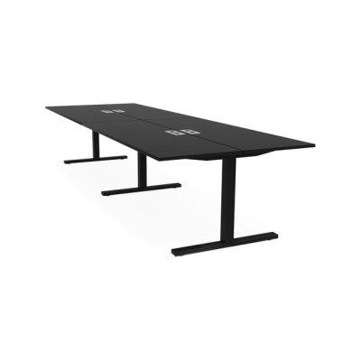 Frankie bench desk T-leg by Martela Oyj