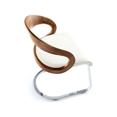 girado cantilever chair by TEAM 7