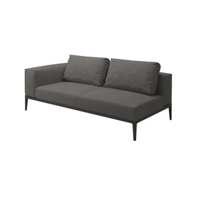 Grid Left/Right End Unit by Gloster Furniture