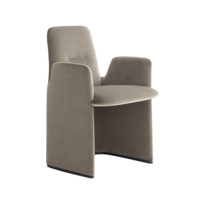 Guest armchair by Poliform