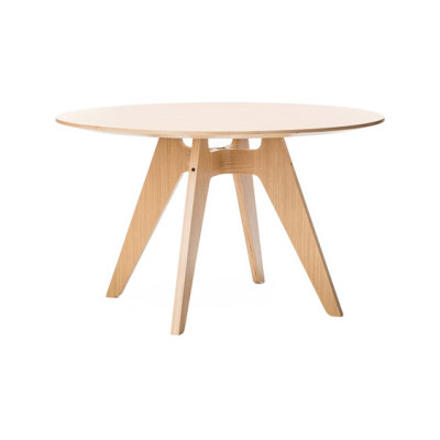 Lavitta 4-legged round table by Poiat