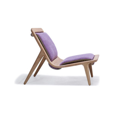 LayAir 01 Low Armchair by Hookl und Stool