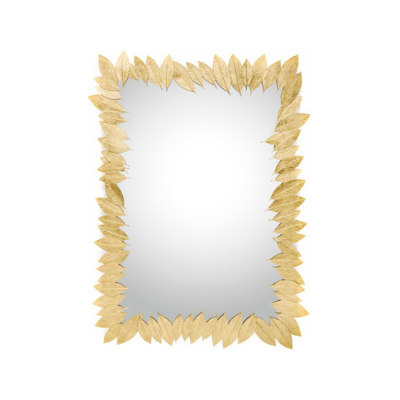 Leaf   Rectangular Mirror by GINGER&JAGGER