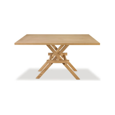 Leonardo Dining Table - Wooden To