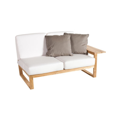 Lineal Module sofa 2 left arm by Point