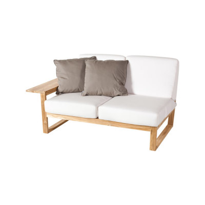 Lineal Module sofa 2 right arm by Point