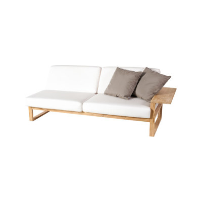 Lineal Module sofa 3 left arm by Point