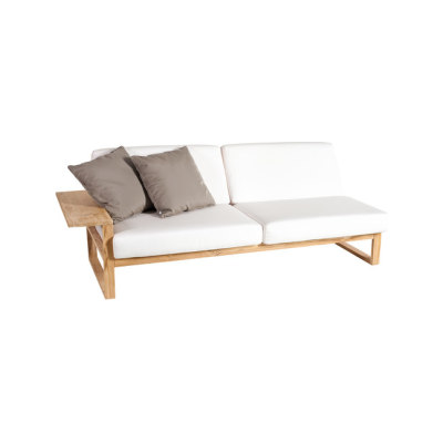 Lineal Module sofa 3 right arm by Point