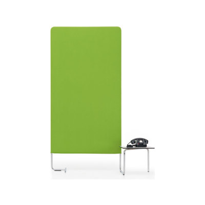 LINKED Wall element with table by Girsberger