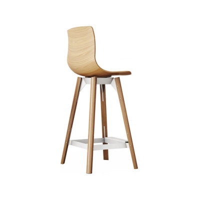 Loku High Bar Stool by Case Furniture