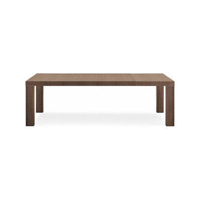 Master due table by Poliform 180/245x86x74cm,c.walnut