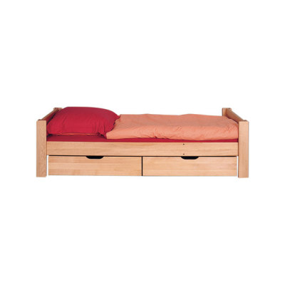 Max single bed with storage unit by De Breuyn