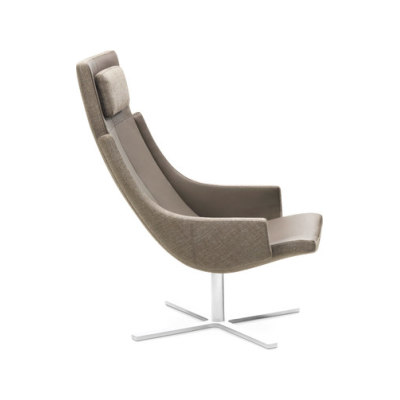 Model 1283 Link   High-Back Chair by Intertime