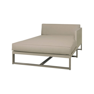 Mono left hand chaise by Mamagreen