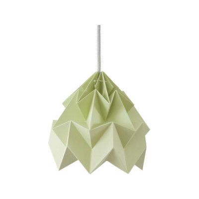 Moth Lamp - Autumn Green by Studio Snowpuppe