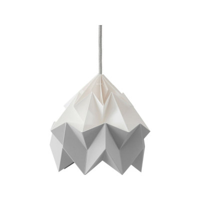 Moth Lamp - White/Grey by Studio Snowpuppe