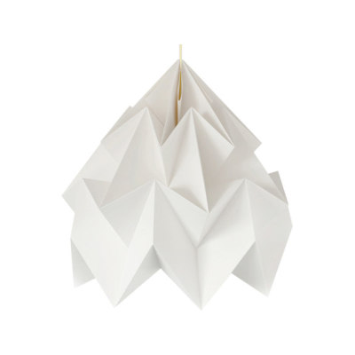 Moth XXL Lamp - White by Studio Snowpuppe