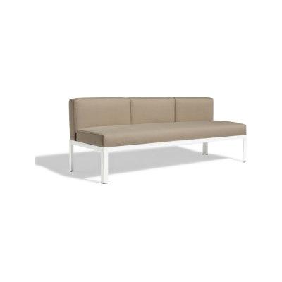 Nak 70 3-seater sofa by Bivaq