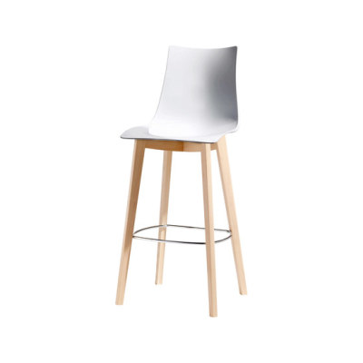 Natural Zebra Antishock stool by Scab Design