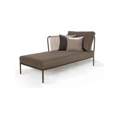 Nido left chaise longue module by Expormim