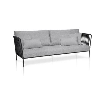 Nido XL hand-woven sofa by Expormim