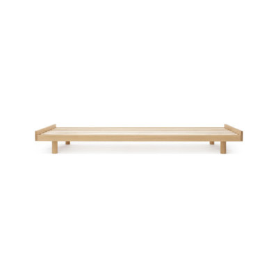 Oak bed frame by Bautier
