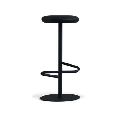 Odette Bar Stool 80 Black - Fabric Type D