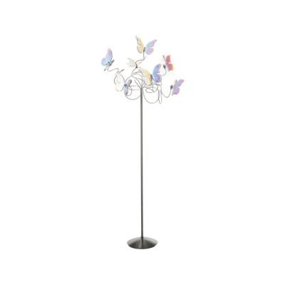 Papillon floor lamp 7-iridescent by HARCO LOOR
