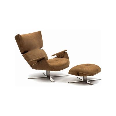 Paulistana Lounge Chair with Ottoman by Espasso