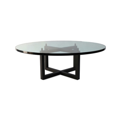Pivot T48/4 Coffee table Stainless Steel Matt
