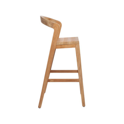 Play Barstool High – A Grade Teak by Wildspirit