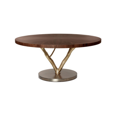 Primitive | Round Dining Table by GINGER&JAGGER