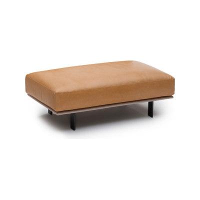 Recess footstool by Linteloo