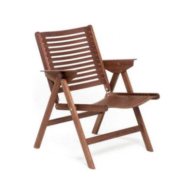 Rex Lounge Chair walnut by Rex Kralj