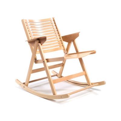 Rex Rocking Chair beech natural by Rex Kralj