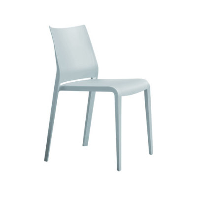 Riga 545 Stackable Chair Desalto Polypropylene F46 Petrolio