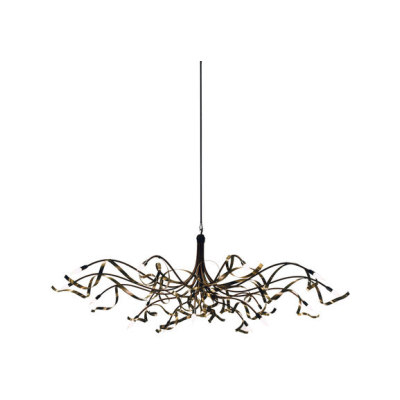 Ruban Plié Chandelier oval by Jacco Maris