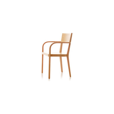 S12 chair with arms by B+W