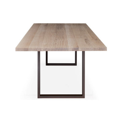 SC 25 Table | Wood with steel legs by Janua / Christian Seisenberger