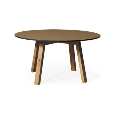 SC 50 Round table | HPL with wood legs by Janua / Christian Seisenberger