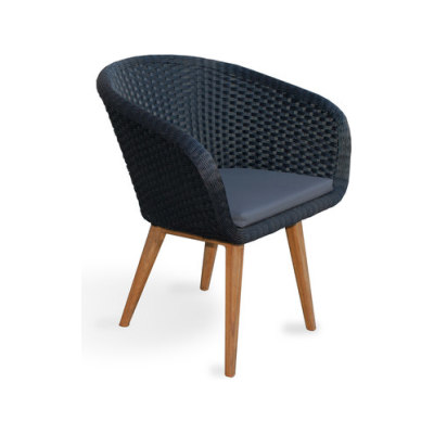 Shell Chair Teak by FueraDentro