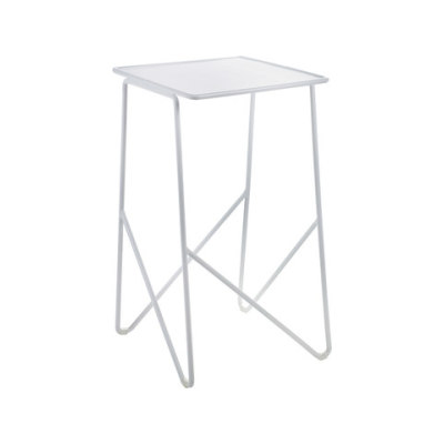 Side Table medium white by Serax