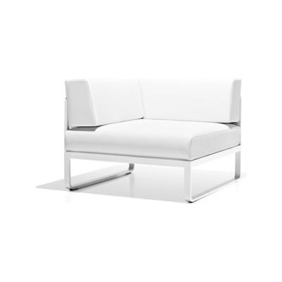 Sit corner module by Bivaq