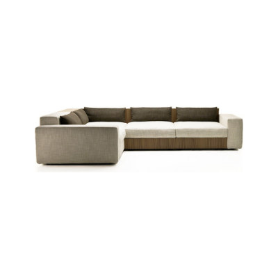 Sofa So Wood by Mussi Italy