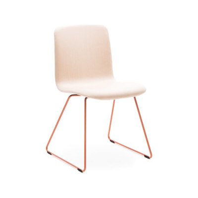 Sola conference chair with sled base by Martela Oyj